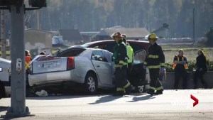 Multi-vehicle fatal crash in Mission