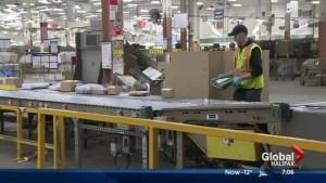 Busy Christmas season for Canada Post