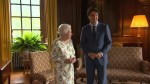 Prime Minister Justin Trudeau meets with Queen Elizabeth