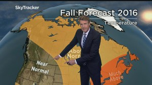 Anthony Farnell's Canada wide Fall Forecast