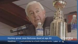 Montreal Canadiens legend Jean Béliveau dies at 83