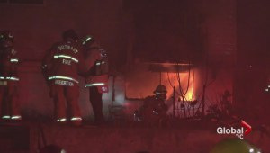 Family of seven burned out of their home
