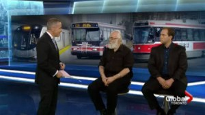 Panelists talk about the TTC's plan to improve service