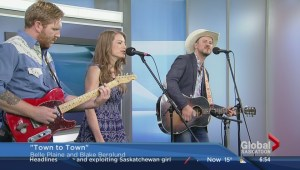 Belle Plaine & Blake Berglund perform 'Town to Town'