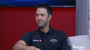 Canadian golfer Adam Hadwin