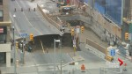 New high-angle shot shows size and depth of massive Ottawa sinkhole