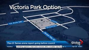 Report on new arena in Victoria Park going before Calgary council