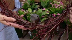 Gardening: Holiday twig wreath