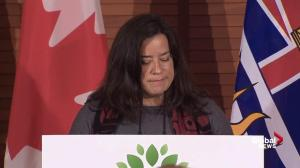 "Jody Wilson-Raybould praises the ""example"" set in protecting Great Bear Rainforest"