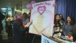 Councillors sign Valentine Pledge to Toronto families in support of affordable child care