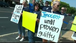 Rally in Ferguson shows support for officer Darren Wilson