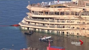 Plans underway to tow ill-fated Costa Concordia
