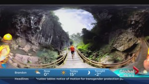 Canadian company uses virtual reality technology to showcase exotic vacations