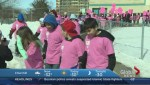 Boys and Girls participate in anti-bullying Pink Shirt Day in Winnipeg