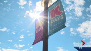 Highest K-Days attendance in a decade