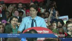 Trudeau makes final election push in tight Calgary ridings