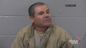 Mexican drug kingpin 'El Chapo' makes court appearance after surprise extradition to U.S.