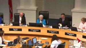 Hazel McCallion presided over her final Mississauga council meeting before the election.