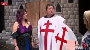 Spamalot: Kristel Harder and Rob Armstrong
