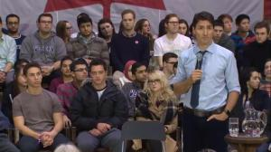Trudeau says Canada is committed to fighting climate change