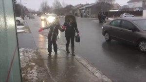 Freezing rain causes treacherous conditions in Montreal