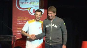 Simon Whitfield announced as torchbearer for Pan Am Games in Toronto