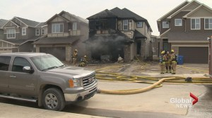 Quick thinking construction workers help reduce damage of Saddle Ridge house fire