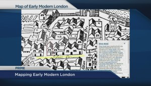 'Map of Early Modern London' project brings ancient city to life