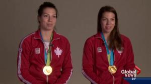 Katherine & Michelle Plouffe: Pan Am gold