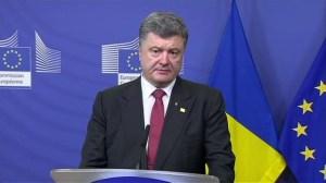 Ukraine President asking EU for tougher action against Russia