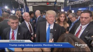 'Mention Monica' says leaked Trump campaign memo