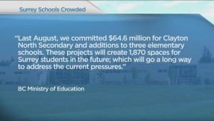 Surrey school changes