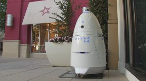 Mother warns others about mall security robots after son has 'frightening collision'