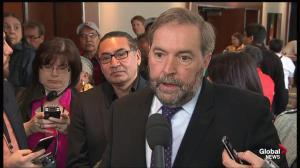 Great opportunity to 'get it right': Mulcair on reconciliation report