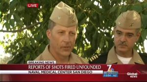 Authorities taking every precaution as investigation into shots fired on San Diego naval base continues