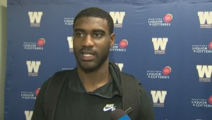 New Blue Bombers Receiver Lestar Jean