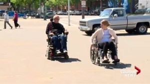 Lethbridge MP Rachael Harder spends day in wheelchair to raise awareness