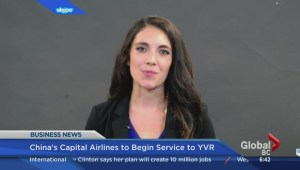 BIV: New air service out of China