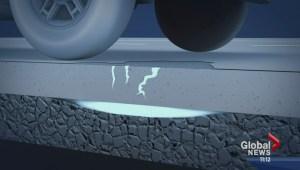 What causes potholes?