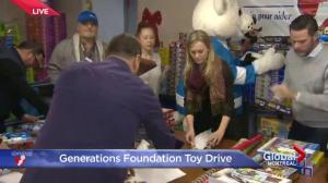Inside Generations Foundation's Christmas warehouse