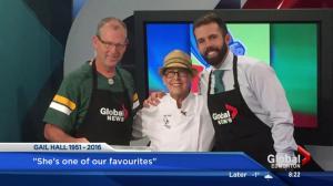 Global News Morning Weekend Edmonton's tribute to Gail Hall