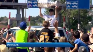Halifax Natal Day parade features Sidney Crosby