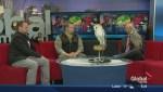 Owls visit Global Edmonton to promote the Boat & Sportsmen's Show