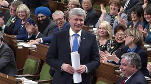 Trudeau, Harper take amusing jabs at each other during question period