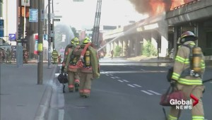 One dead in fiery Highway 40 accident