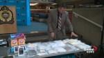 Edmonton police showcase drugs seized during recent investigation