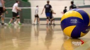 Saskatchewan Huskies men's volleyball team reflects on first half of season