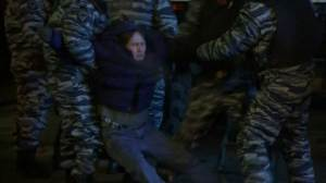 Some protesters arrested after Russia detains Navalny