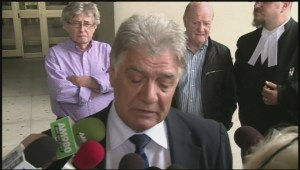 Emotional Joe Fontana addresses media following sentencing
