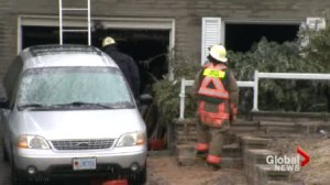Body pulled from home gutted by New Year's Day fire